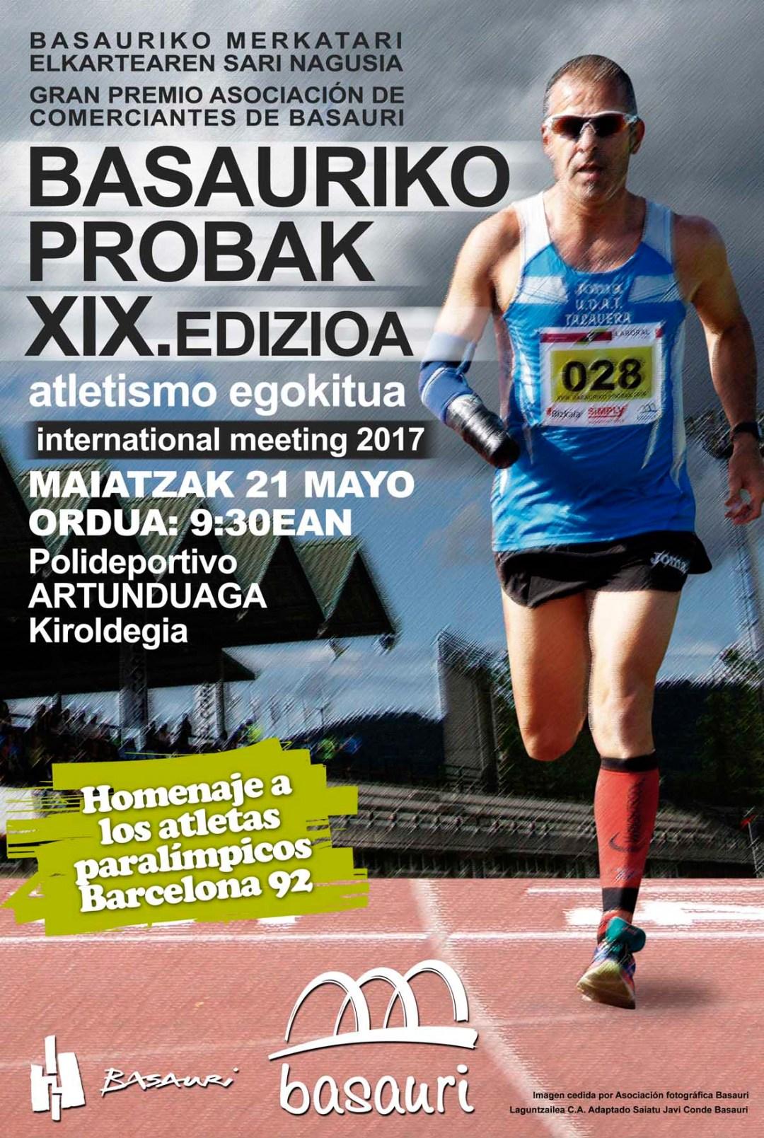 meeting2017_sin patrocinadores - Toni Franco participará en el Meeting Internacional XIX BASAURIKO PROBAK 2017