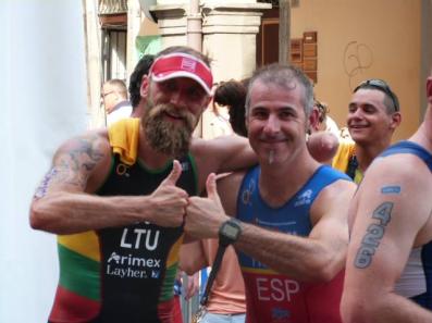 01 Séptimo en la Copa del Mundo de Triatlón en Iseo
