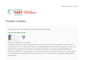 Proyecto Validado por GAES