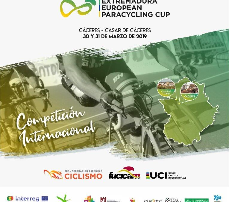EXTREMADURA EUROPEAN PARACYCLING CUP 2019