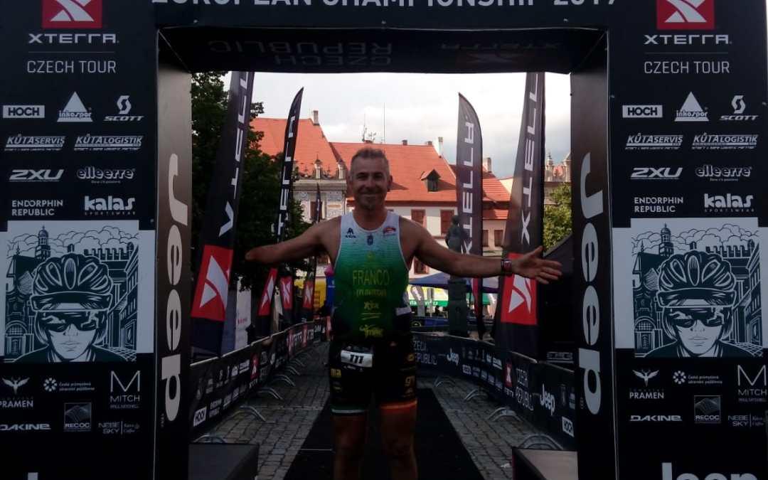 Campeón de Europa X-TERRA en Prachatice (República Checa)