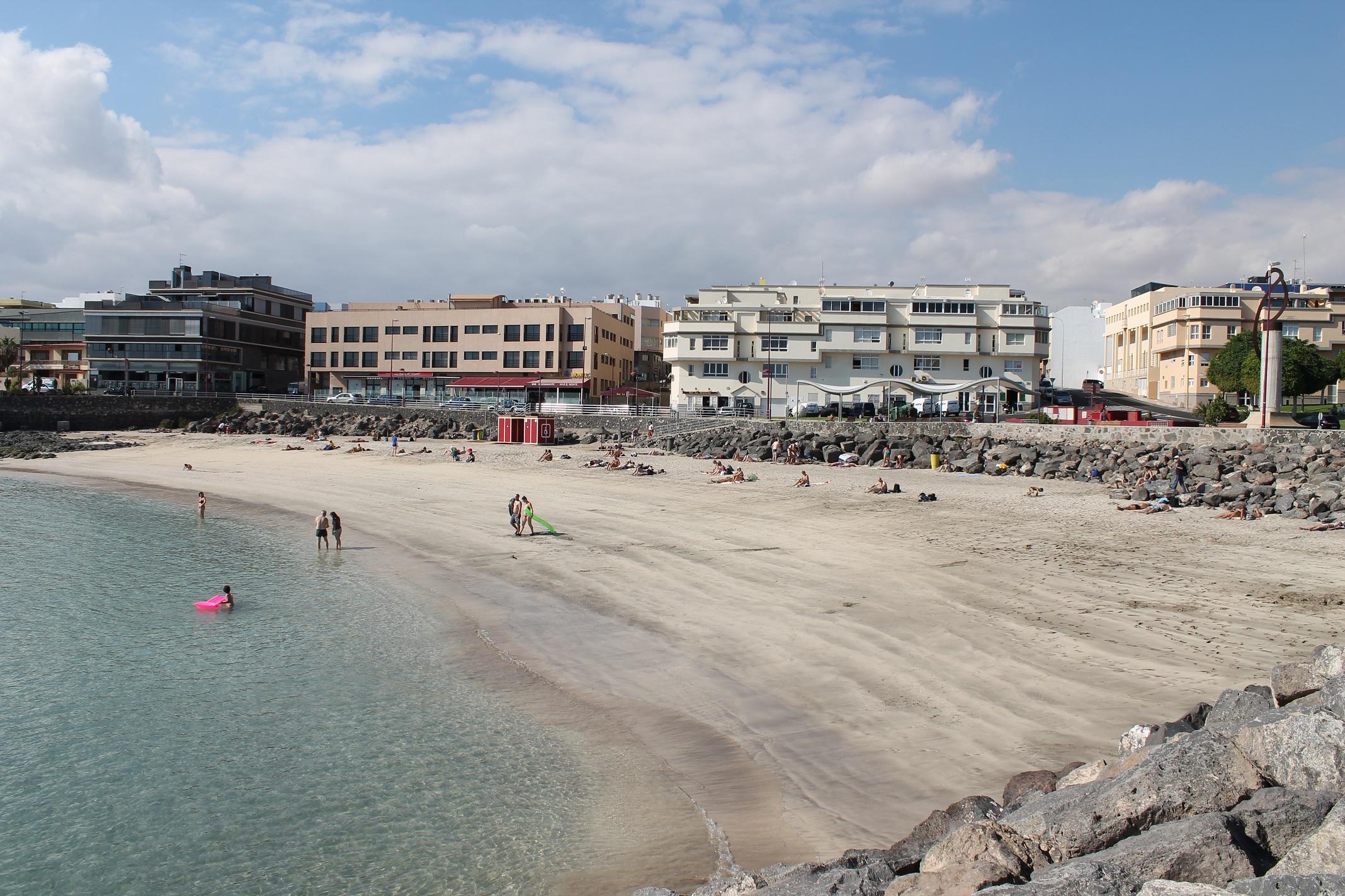 PLAYAS DE FUERTEVENTURA PLAYA CHICAPUERTO DEL ROSARIO  Playas de Fuerteventura