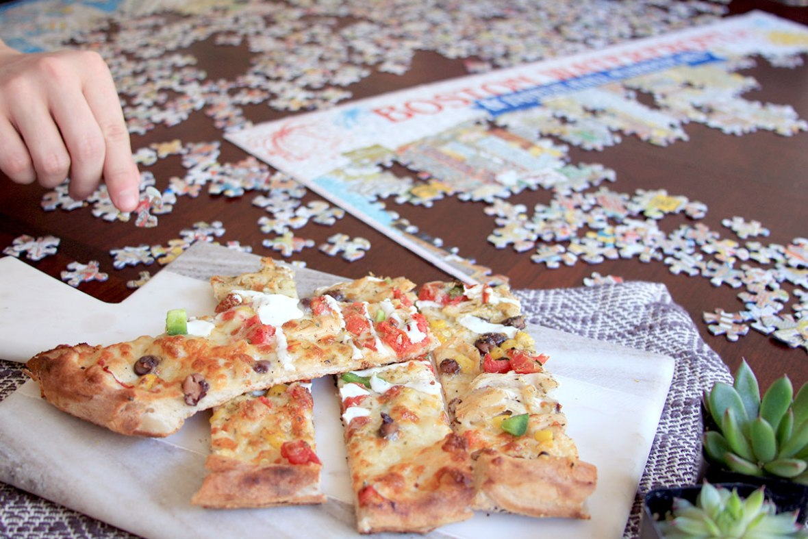 Budget Date Night Ideas - Do a puzzle together