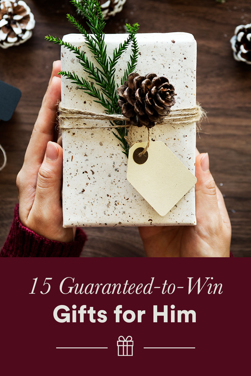 15 Guaranteed-to-Win Gifts for Him
