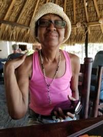 Toni at Playa Ventanilla