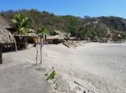 Scenery at Playa Ventanilla