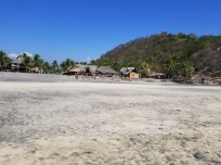 Scenery at Playa Ventanilla