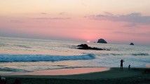 Sunset on Playa Zipolite
