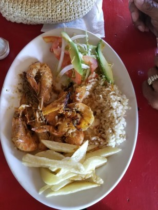 Meal at Los Almandros