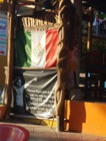 Sign downtown Zipolite