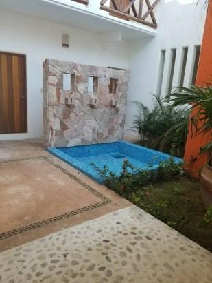 In front of Room 2 at Hotel Estrella de Mar