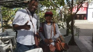 Vendor who sold man bag