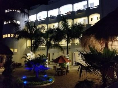 Court yard Hotel Estrella de Mar