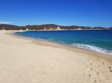 Beach in front of Quinta Bella, Huatulco, Mexico