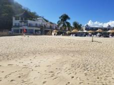 Beach in front of Quinta Bella, Huatulco, Mexico
