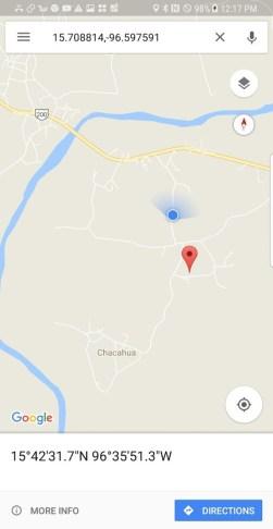 Somewhere near Chacahua