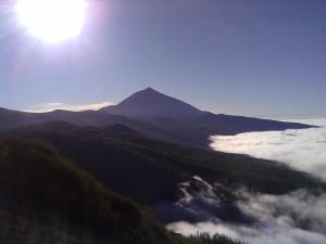 A picture of mountain Teide at Teneriffa