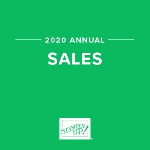 2020 Sales