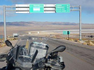 Grenze Argentinien zu Chile