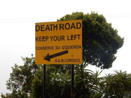 """Auch """"Camino del Muerte"""" oder """"Death Road"""". Die gefährlichste Strasse der Welt"""