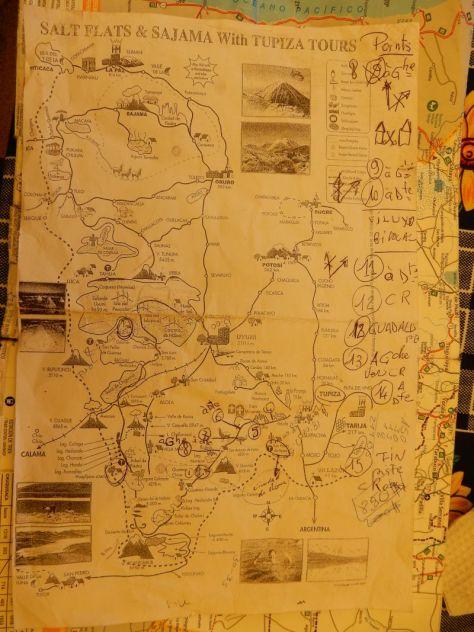 Die Straßenkarte meiner französischen Freunde