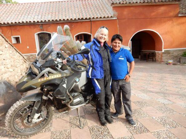Welcome von David in der Hazienda del Museo