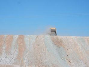 Estacion Zaldivar Riesige Kupfermine