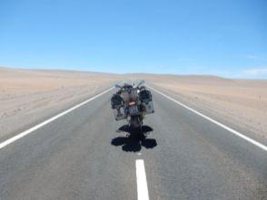 Die Atacama Endlose Wüste
