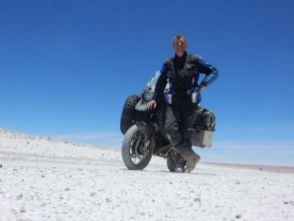 Grenze zu Bolovien Durch die Laguna de Huasco