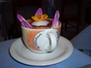 So wird der Kaffee nur in Vernazza / Chinqueterre serviert