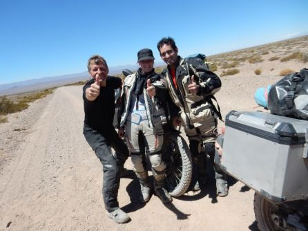 Estelle und Adrien auf Ihrer Tour durch Südamerika