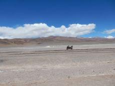 Stillgelegte Eisenbahnen in der Catamarca Richtung Chile