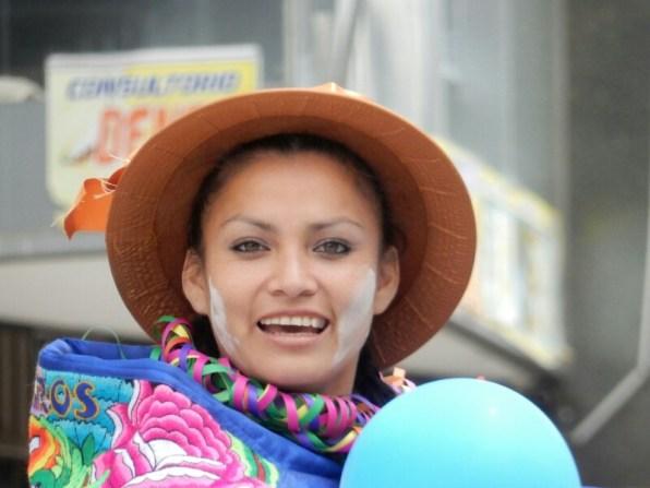 Straßenfest in Huancayo