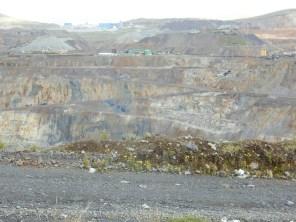 Die Mine in Cerro de Pasco - Die Großstadt ist eine der höchstgelegenen Städte der Welt.