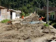 Die Spuren der Überschwemmungen in diesem Jahr sind überall sichtbar.