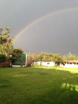 Carhuaz - der nachmittägliche Regen