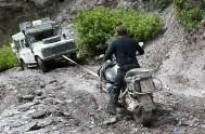 Wenn es in den Yungas mit zwei Rädern nicht mehr geht ...