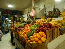 Am Markt in Agua Calientes