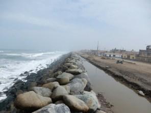 Die Überflutungen im März 2017 durch El Nino sind allgegenwärtig - Trujillo war besonders betroffen.