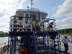 Die Avitora - mit dem Frachtschiff auf dem Rio Paraguay