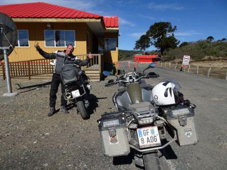 Grenzstation am Paso Icalma