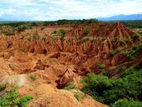 Tatacoa Wüste - durchaus überschaubar