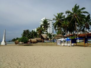 Strand in Covenas