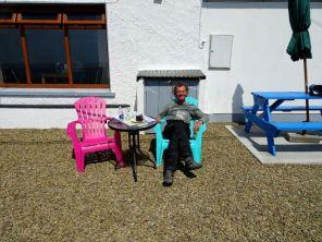 Pause beim Cable car Café - bei Dursey-Island