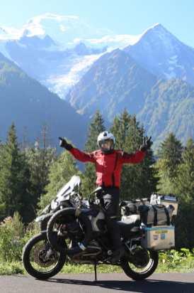 Der Mont Blanc ... und ich - von Stefan ins Bild gesetzt