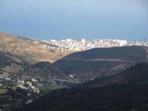 Blick auf Ceuta