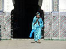 Meknes - vor dem Mausoleum Sheik El Kamel