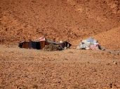 Berberzelte entlang der Sahara