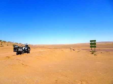 Im Kavir Nationalpark bei Kashan
