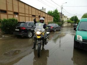 Tiflis - Toni bei der Abreise nach Sugdidi